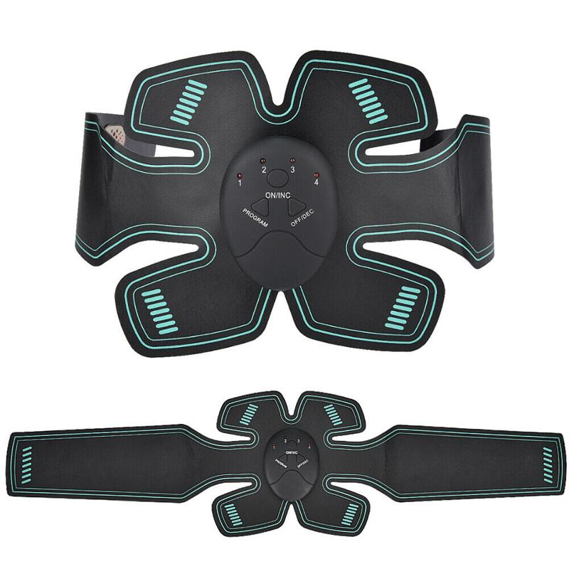 EMS брюшной мышцы Стимулятор ABS Toner тренер талия тело массажер для похудения Shaper Пояса оборудование для фитнеса с розничной коробкой