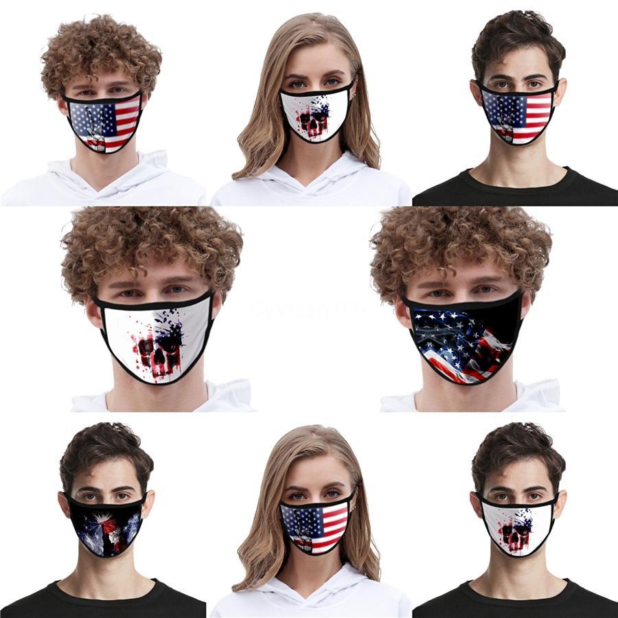 Occhiali da Sole Orso maschera adulti Kids Fun Fancy Dress Metà inferiore Viso Bocca muffola maschera riutilizzabile polvere confortevole cotone maschera nera W # QA31
