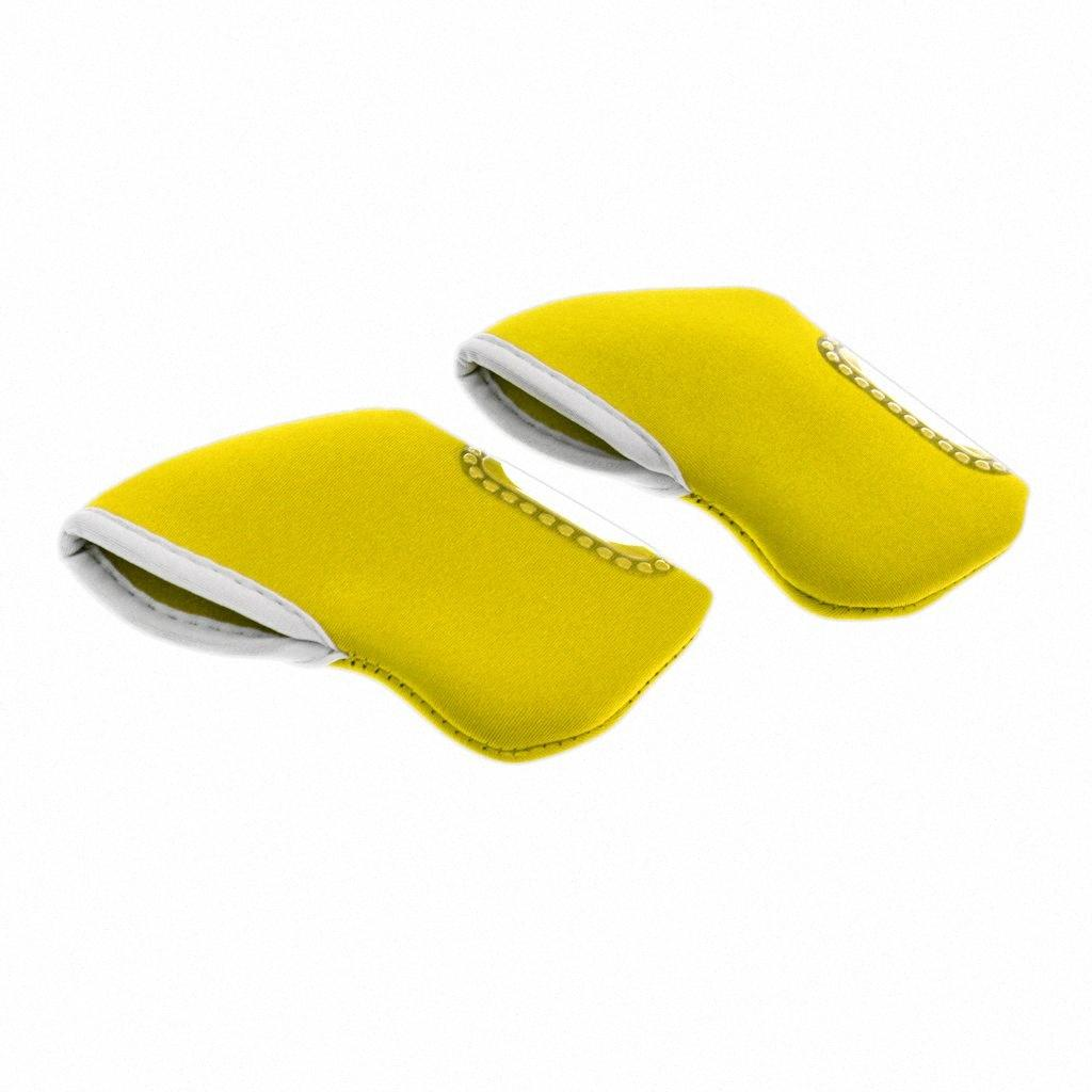 Pack of 10 Golf Iron Head Cover Wedge Headcovers Golf Club Iron Protector Neoprene Swimming Water Sports Material Choose Colors pcEU#