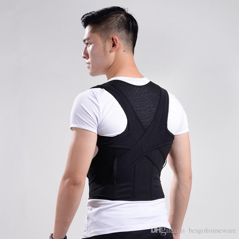 Adult Student Breathable Correction Belt Unisex Back Posture Corrector Back Brace Upper Posture Correction Spine Support Belt BC BH1025