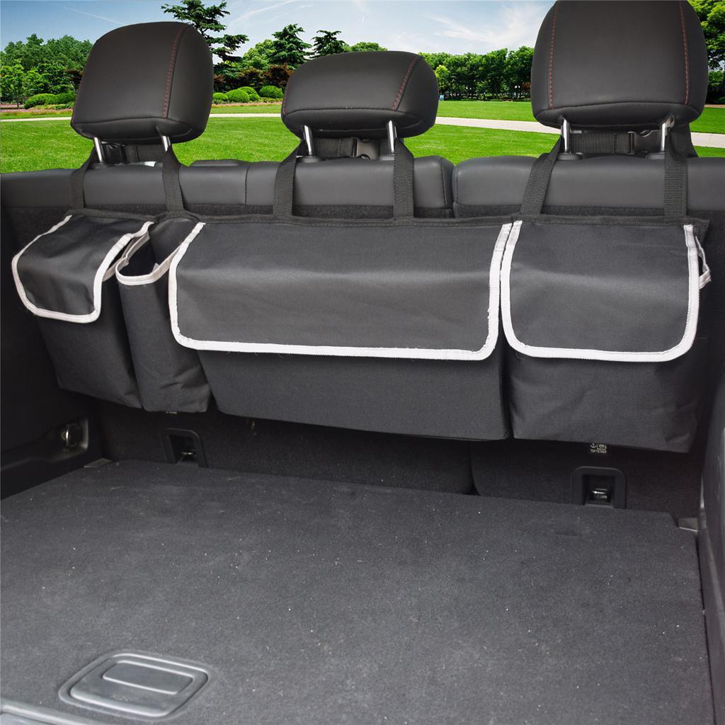 Автомобиль Back Seat Организатор Защита хранения - Материал Holder, армированные Уголки