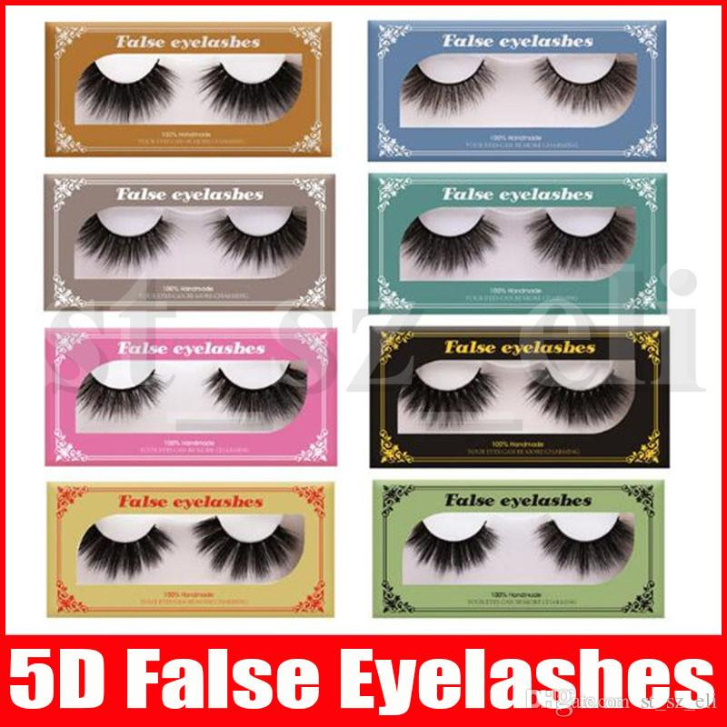 3D Mink Eyelashes Long Dramatic 100% Mink Eyelash Makeup 5d Mink Eyelashes Thick Long False Eyelashes Eyelash Extension 10 Styles