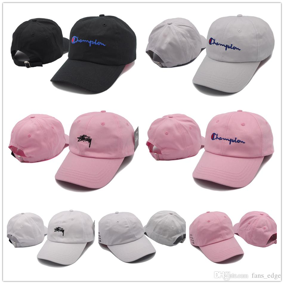 High Quality Embroidery Champions Curved Visor Casquette Hats Snapback Cap Sport Hat Champion Leisure Sunscreen Adjustable Caps