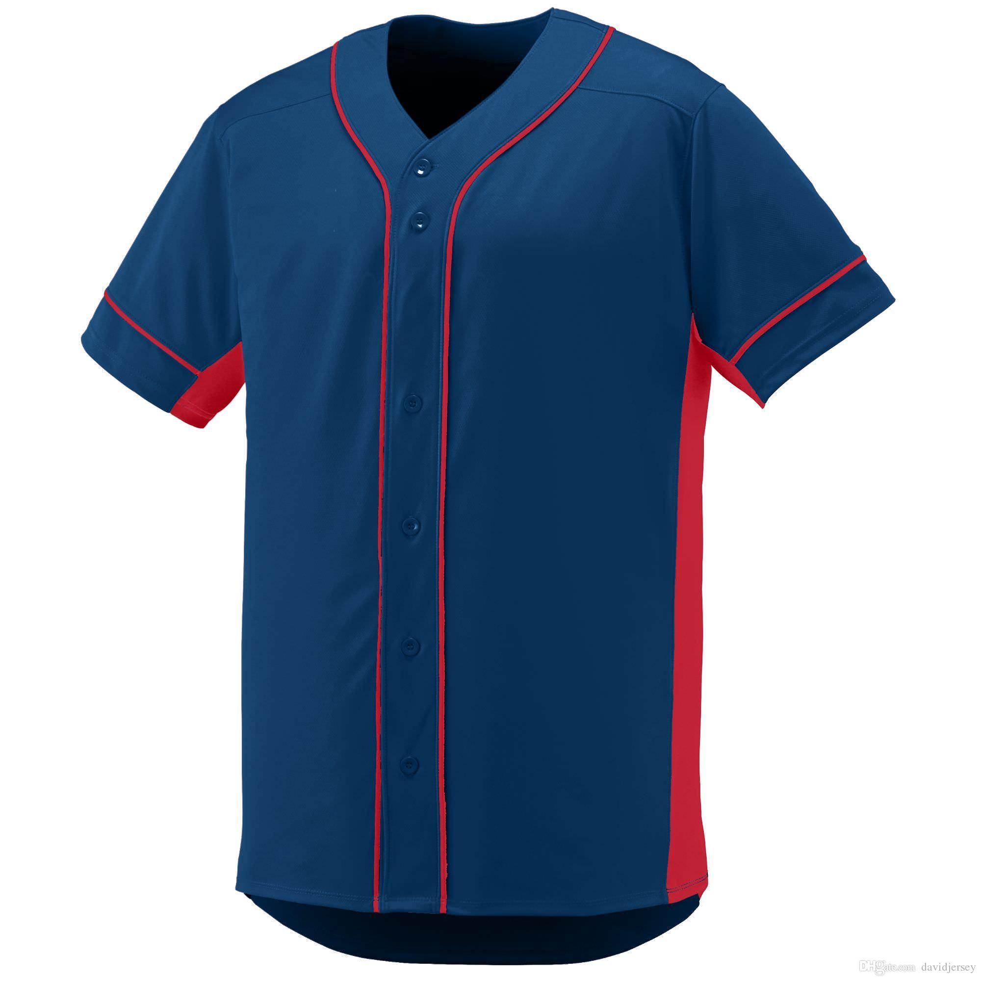 2019 Camo Custom Color New Men Baseball Jersey Giovane semplice Maglie ordinate Id 000128 A buon mercato