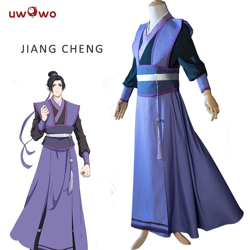 UWOWO Jiang Cheng Teenage Ver Grandmaster of Demonic Cultivation Cosplay Anime Mo Dao Zu Shi Cosplay Costume MenMX190921MX190921