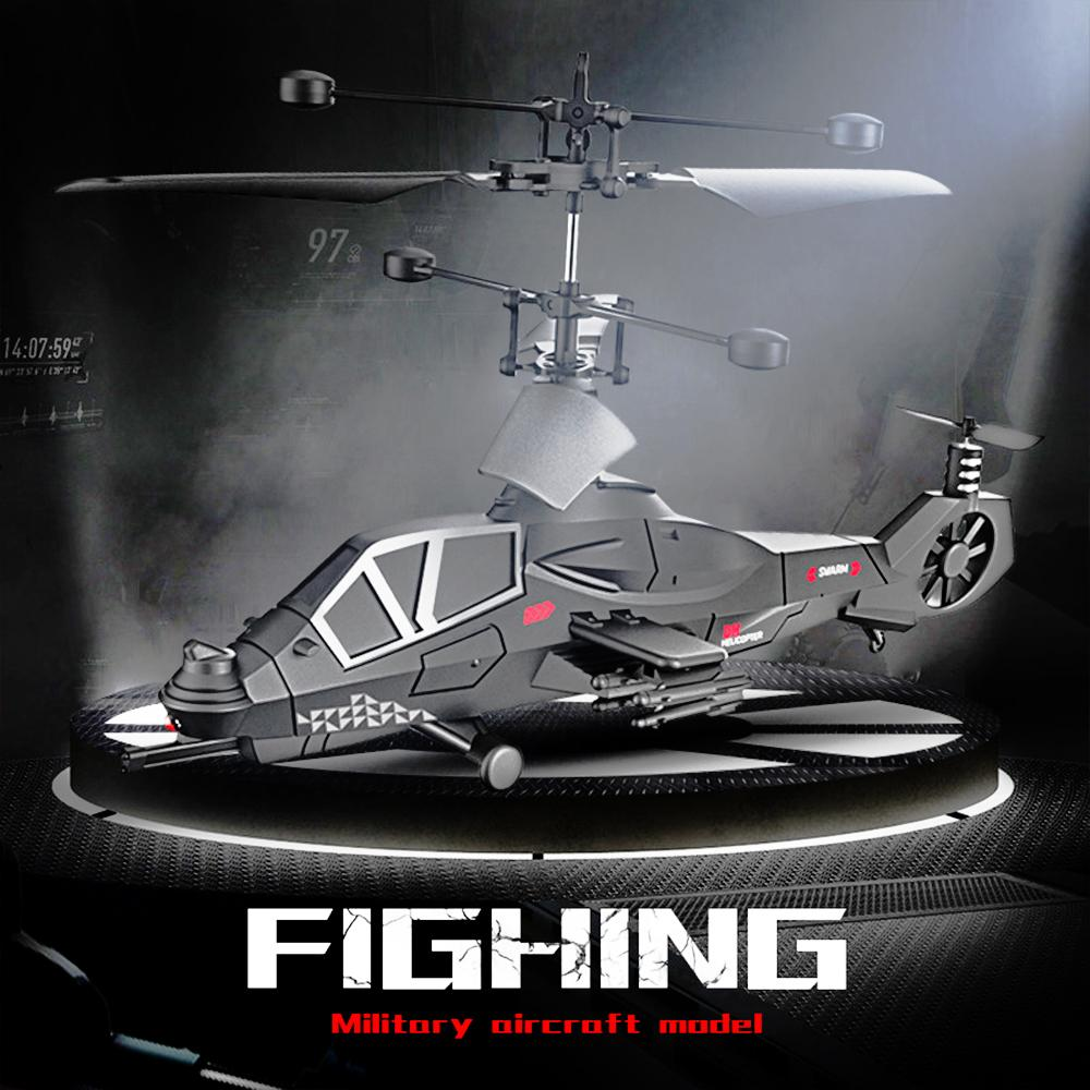 RC Drone Military Fight Super Cool 3.5CH Remote Control war Aircraft Model RC Drone Helicopter Quadcopter Toys For kids