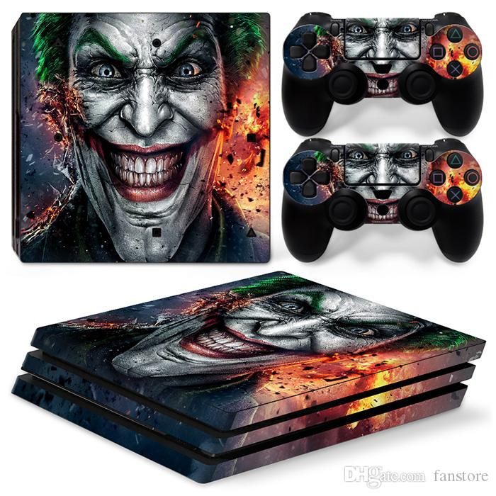2019 Fanstore Skin Sticker Vinyl Decal Game Sticker Cover For Playstation PS4 Pro Console And 2 Remote Controller Cool Design From Fanstore $9 55