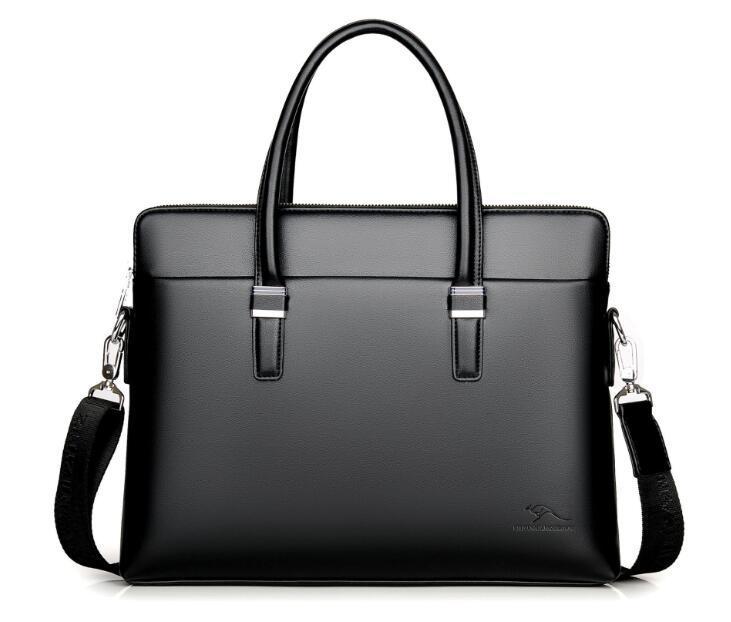 Мужские мужские портфель бизнес-мешок на плечо компьютерной доставку сумка Zhizun Kangaroo Free 1803 GSGBD
