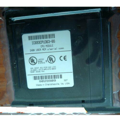 1PC Sıfır GE Fanuc IC693CPU363-BG modülü Kutu Ücretsiz Kargo # QW