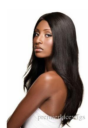 8a Full Lace Human Hair Wigs Pre-plucked Perimeter with BabyHair Brazilian Virgin Hairs Silky Straight Wigs Natural Hairline With Babyhair