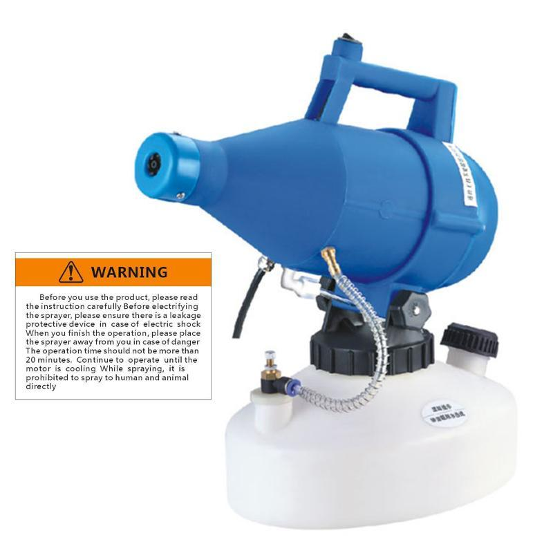 Électrique ULV brumisateur Portable Ultra-Low Volume Atomiseur Pulvérisateur fin nebuliseur Pesticide Nébuliseur 4.5L Nébuliseur