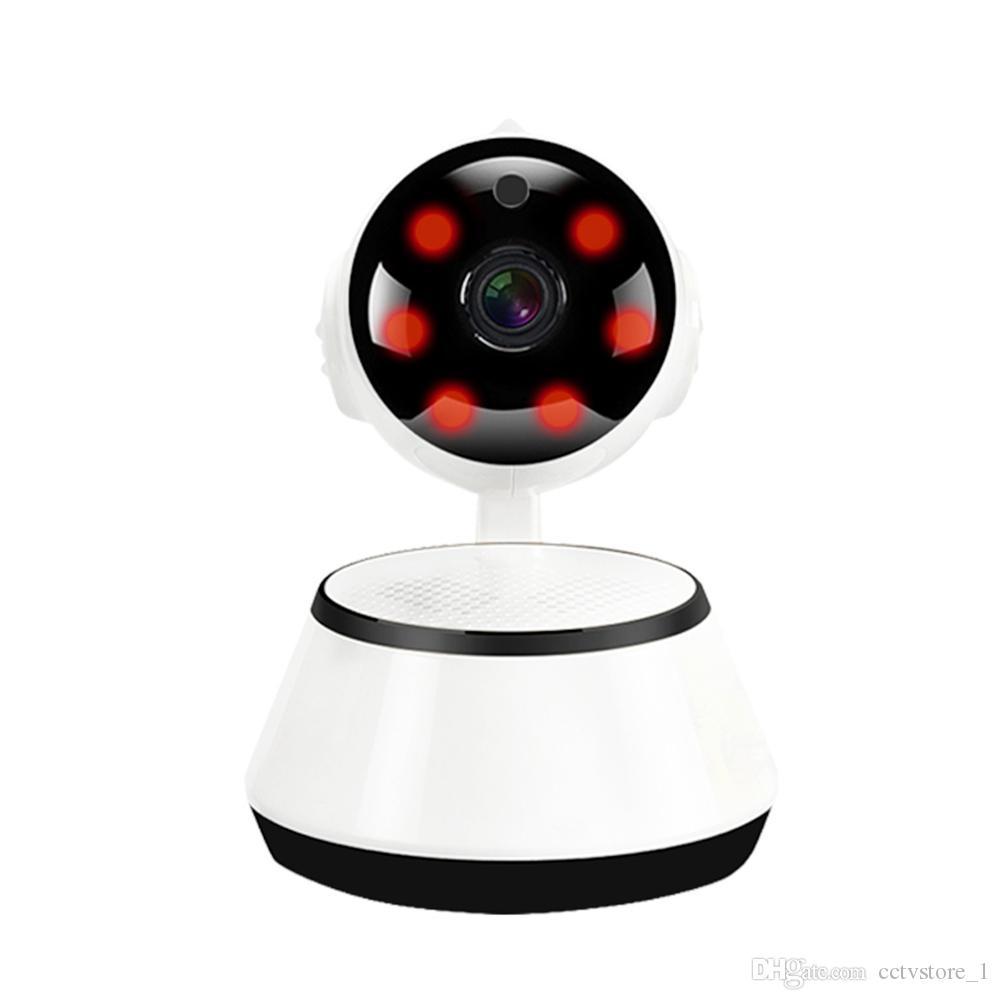 CCTV 720P WiFi Mini Bebek Monitörü Kablosuz IP Kamera PTZ P2P Gözetleme Güvenlik Home Video Monitör Gece Görüş V380