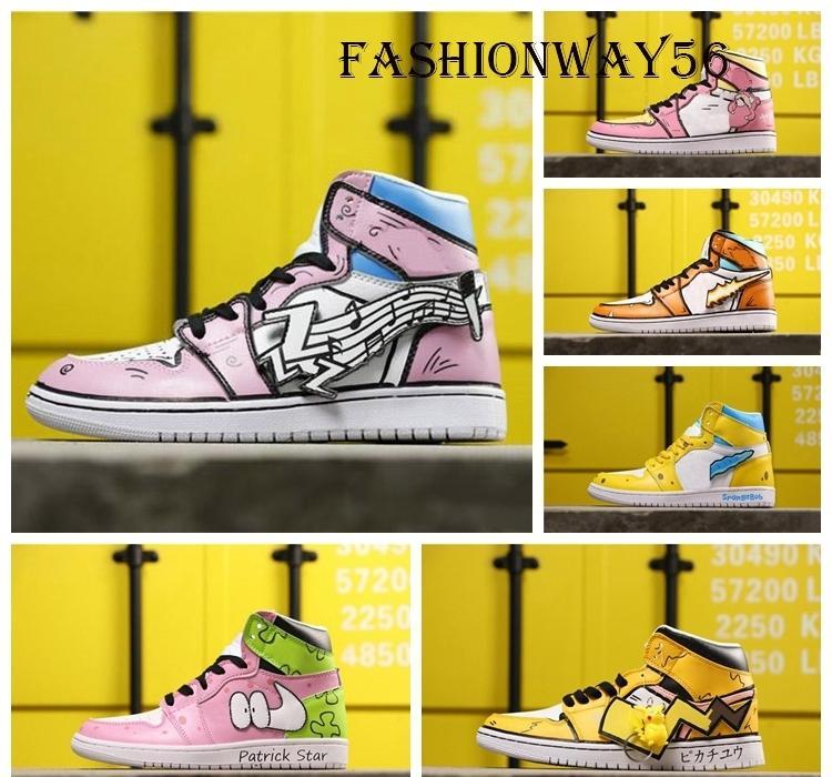 Vente chaude 2020 nouvelle 1 LEGACY 312 NRG haute OG GOKU éponge Homme de basket-ball Chaussures Femme Baskets Designer Taille de chaussures