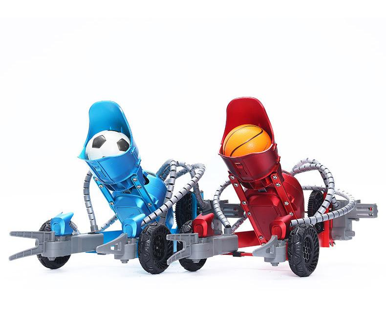 TL K5 RC البسيطة كرة سلة، كرة القدم روبوت اللعب، الذكي التقاط إطلاق الكرة، سبائك مادة، اللعب المتعدد، لعيد الميلاد كيد هدايا عيد الميلاد