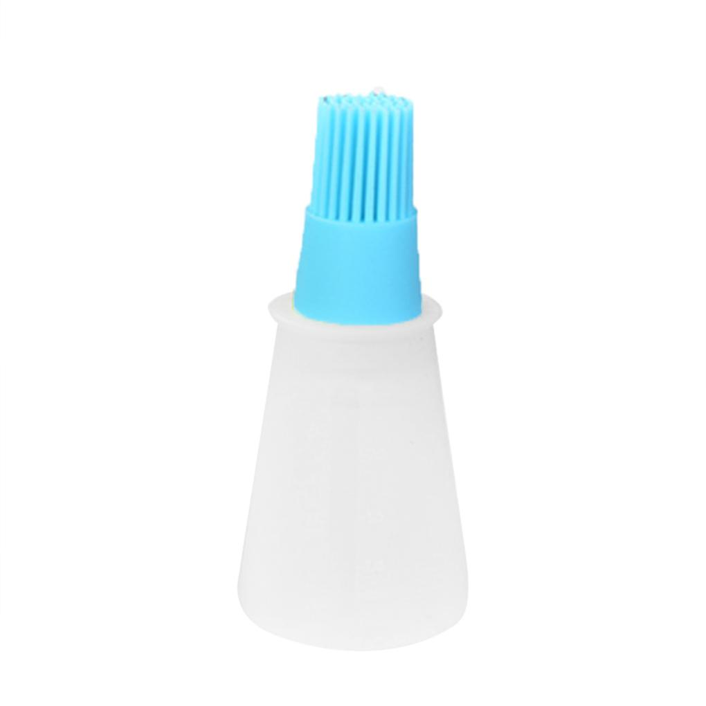 New Silicone Basting Lecythus Oil Pastry Brush For Barbecue Baking Cooking Bbq Tool C19041501