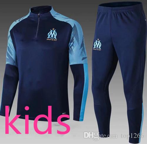 quality design new lower prices super cute Acheter Fc Barcelone Real Madrid Ajax Paris Psg Jordan Juventus Atletico  Madrid Manchester City France Survetement Foot Enfant Kids Soccer Tracksuit  ...
