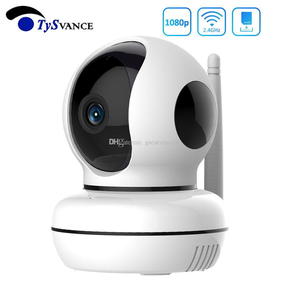 HD 1080P 2MP 무선 IP 카메라 PTZ CCTV 2.4G 와이파이 홈 감시 보안 카메라 시스템 실내기 모니터 캠