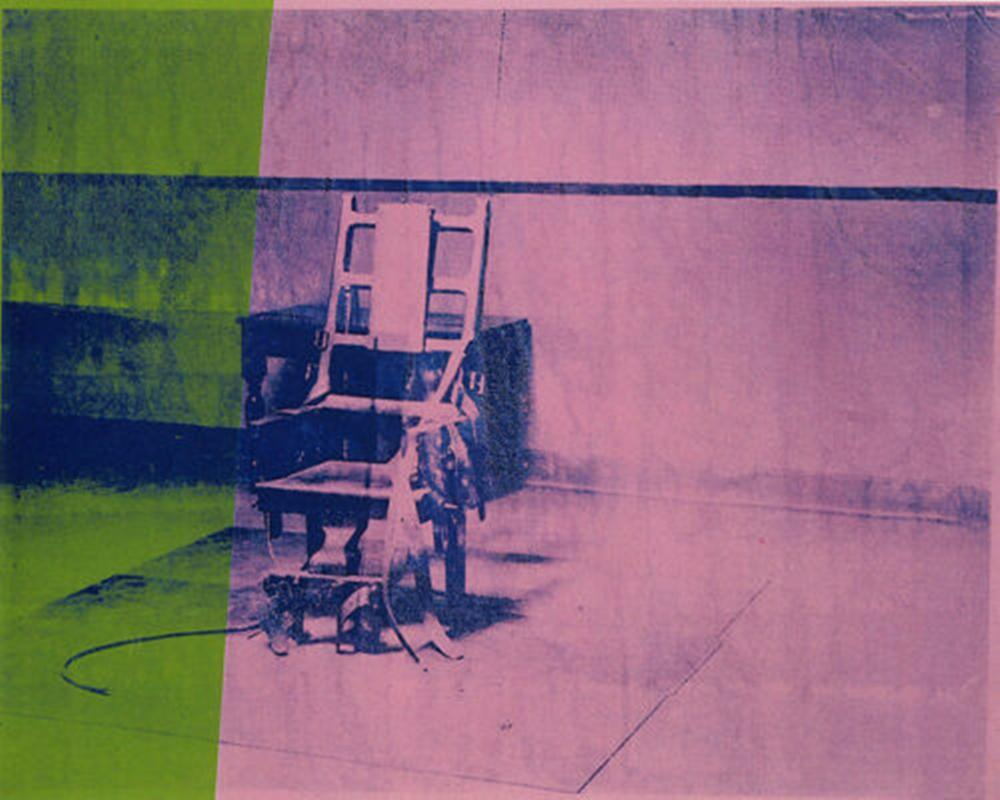 Andy Warhol Art Paint Big Electric Chair Green Pink Home Decor Handcrafts /HD Print Oil Painting On Canvas Wall Art Canvas Pictures 200630