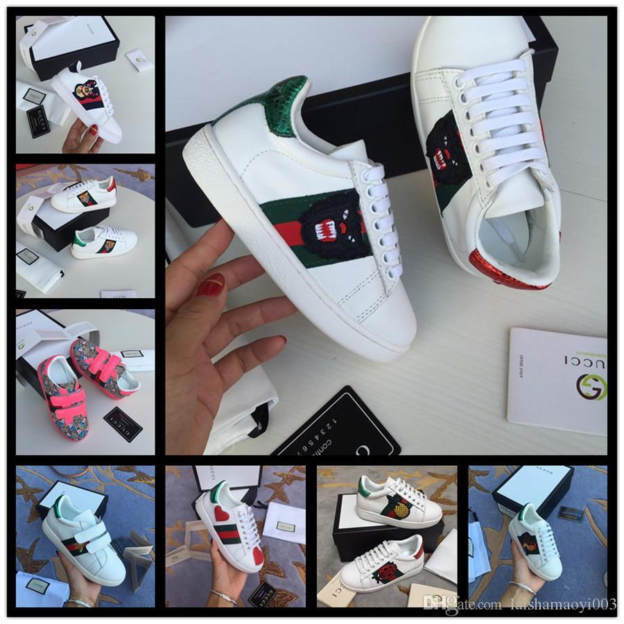 Venda quente crianças sapatos de designer Crianças tênis de basquete branco da criança Esporte Sapatilhas para o menino da menina da criança Chaussures Pour Enfant