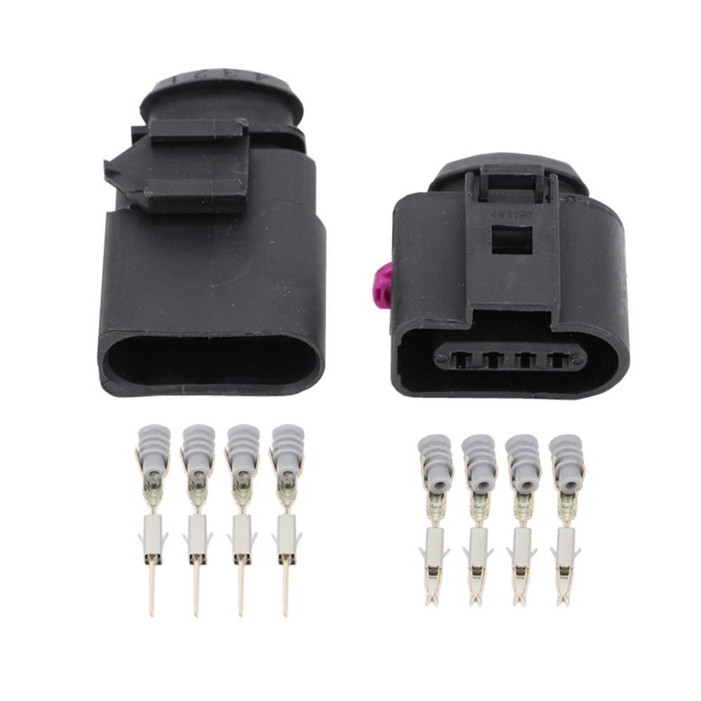 5 Sets 4 Pin Automotive connectors DJ7042A-1.5-11//21 mass intake pressure sensor Electrical Wire connector plug