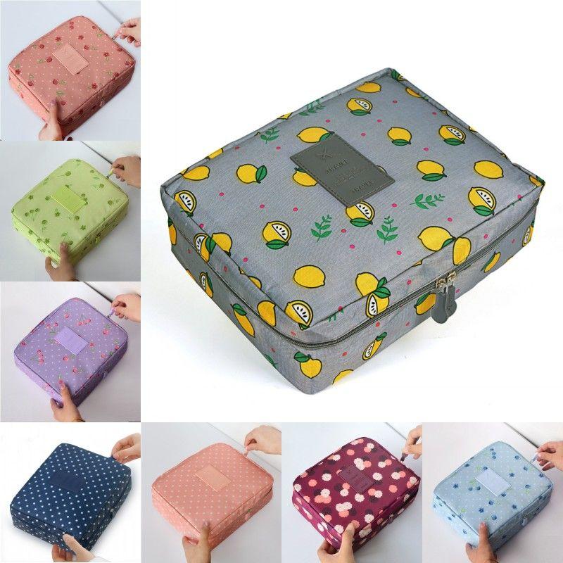 Bags Organizer Makeup Cosmetic Style Bag Korean Toiletries Travel Women Up Waterproof Female Storage Make Multifunction Cases Mpwjl