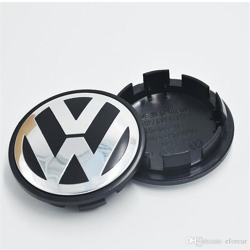 Etiqueta engomada de la insignia del centro del centro de rueda de 65 mm VW para el coche VW nuevo al por mayor