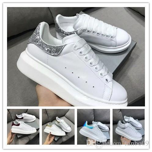 2019 Kadife Siyah Womens Chaussures Ayakkabı Güzel Platformu Casual Sneakers Lüks Tasarımcılar Ayakkabı Deri Katı Renkler Elbise Ayakkabı r3