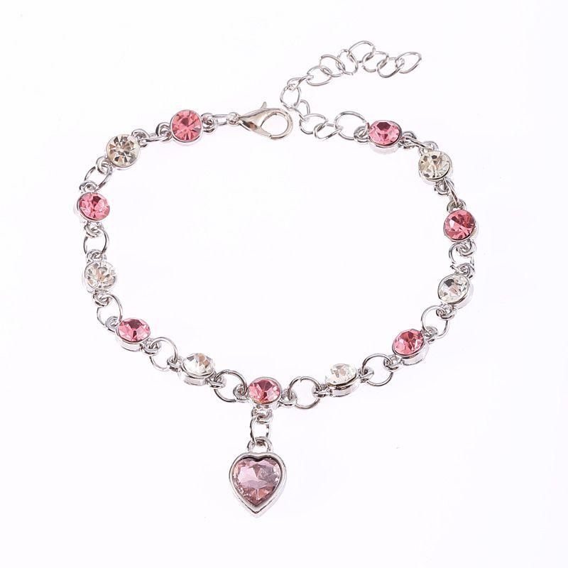 Popular Alesilver plated crystal shiny bracelets wholesale adjustable rhinestone bangle CZ diamond bracelets for women jewelry free shipping