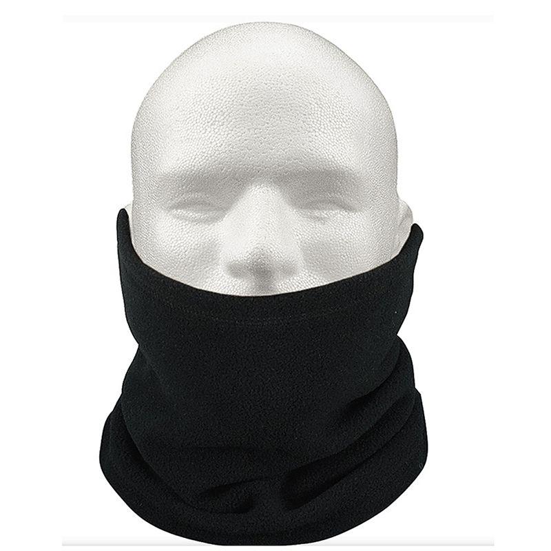 Unisex polar del calentador del cuello del desgaste de la redecilla de la snowboard térmica bufanda del sombrero de esquí