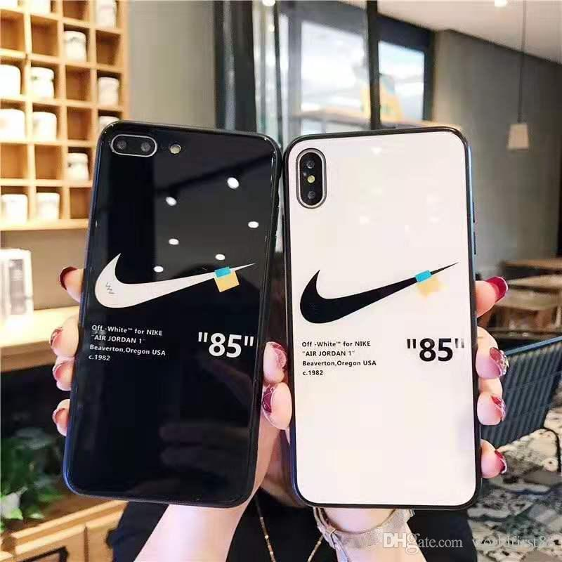 mermelada televisor Adulto  Brand Tempered Glass Designer Phone Cases For IPhone Xr Xs MAX 6 7 8 Plus  Cover Shockproof TPU + Glass Phone Case Tablet Case 10 Tablet Pc Cases From  Worldfirst88, $6.79| DHgate.Com