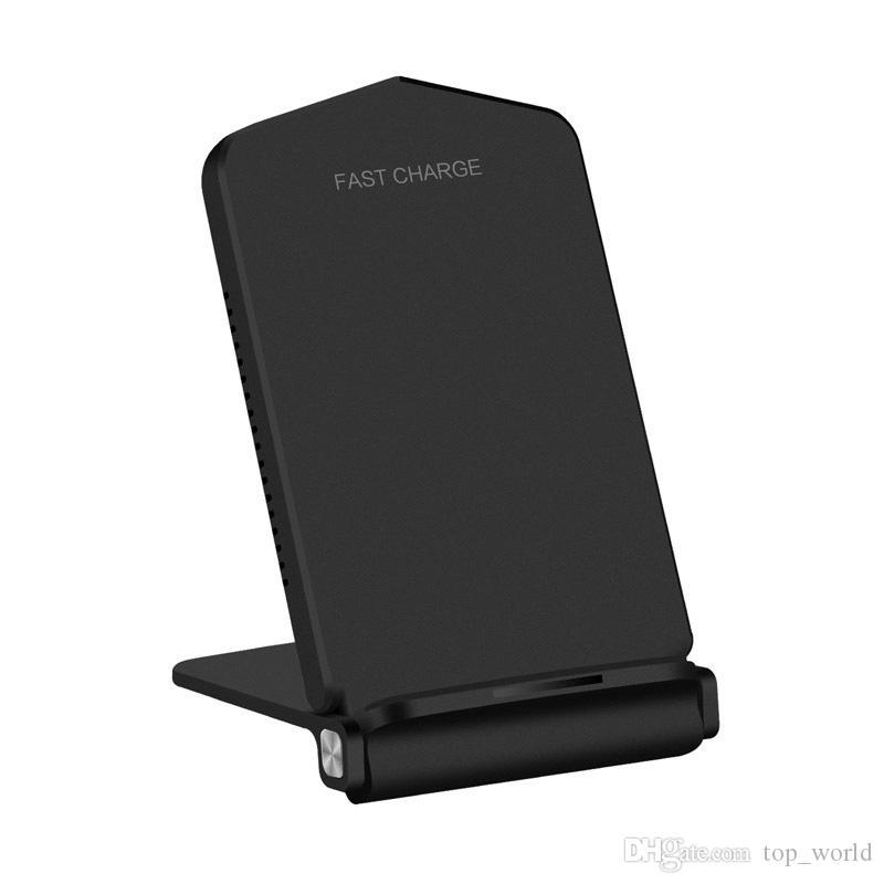 15W QI 무선 충전기 빠른 요금 도크 패드 아이폰 11 프로 엑스에 대 한 빠른 충전 스탠드 패드 xs 최대 xr x samsung 노트 10