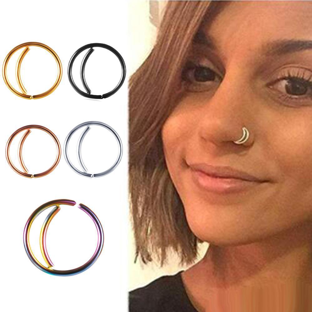 2020 Stainless Steel Nose Ring Hoop Septum Rings Nose Body Jewelry Piercing Studs 20 Gauge 8mm Ear Bars Tragus Earrings From Oncemorelove6789 0 2 Dhgate Com