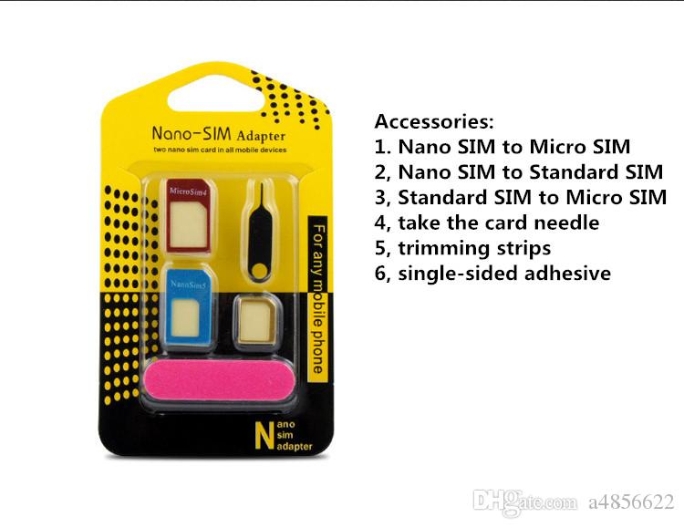 Convert Nano SIM Card To Micro Standard Adapter For All Phone Sim Restore  Card Sets To SIM Card Buy Tools From China Cell Phone Fixing From A4856622,  $0.54| DHgate.Com