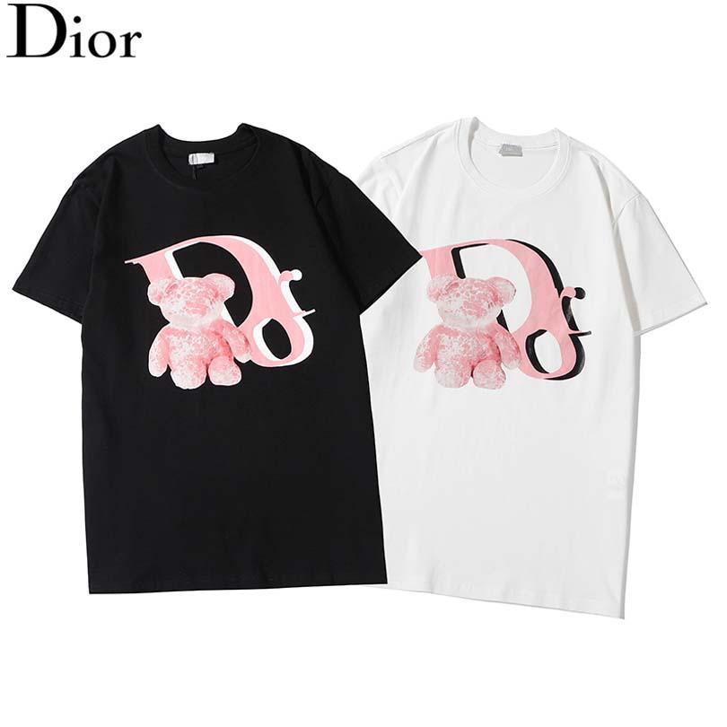 2020 üst seviye erkek gömleği erkek bayan hiphop yaz kısa kollu tişört yuvarlak boyun 3D baskılı tasarımcı gömlek 2 renk boyut S-XXL