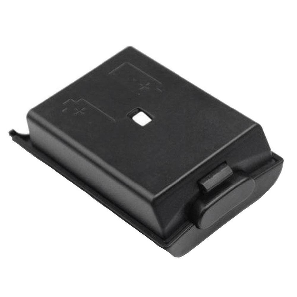 2 Packung mit Schwarzweiss-Ersatz AA-Batterie-Kasten rückseitige Abdeckung Shell für Xbox 360 Controller