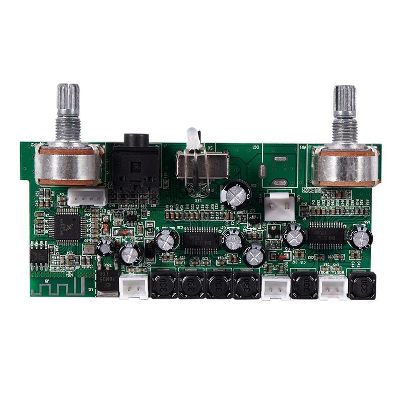 DC12V 2.1 Channel 10W x 2 + 15W Amplifier Bluetooth 3.0 Audio Decoder Board Supports AUX MP3 WAV Mode