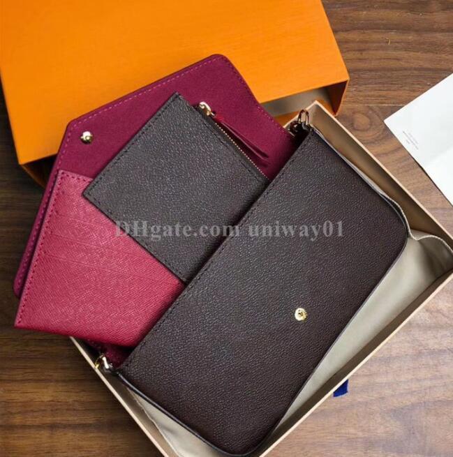 caja original calidad de las mujeres del bolso de hombro cruzada cuerpo de embrague bolso bolso de la mujer