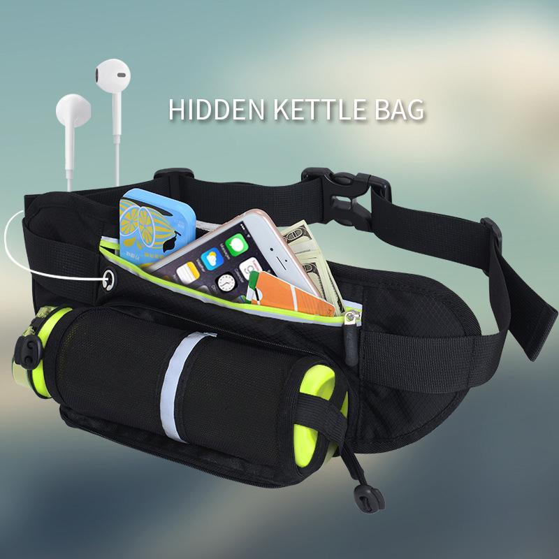 Açık Spor Şişe Cepler Çok fonksiyonlu Sürme spor sırt çantası tasarımcı fannypack MarathonBelt Çanta Kişisel Koşu Cep Telefonu Cebi