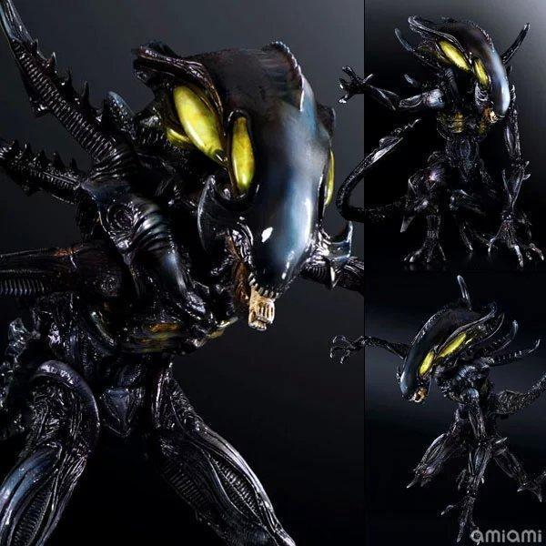 NEW hot 25cm Alien vs Predator Enhanced version action figure toys Christmas gift collectors