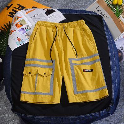 Mens Designer Luxury Short Summer vrac High Street 3M Pantalons Reflective mode populaire Top qualité Angleterre Style de Vente Hot