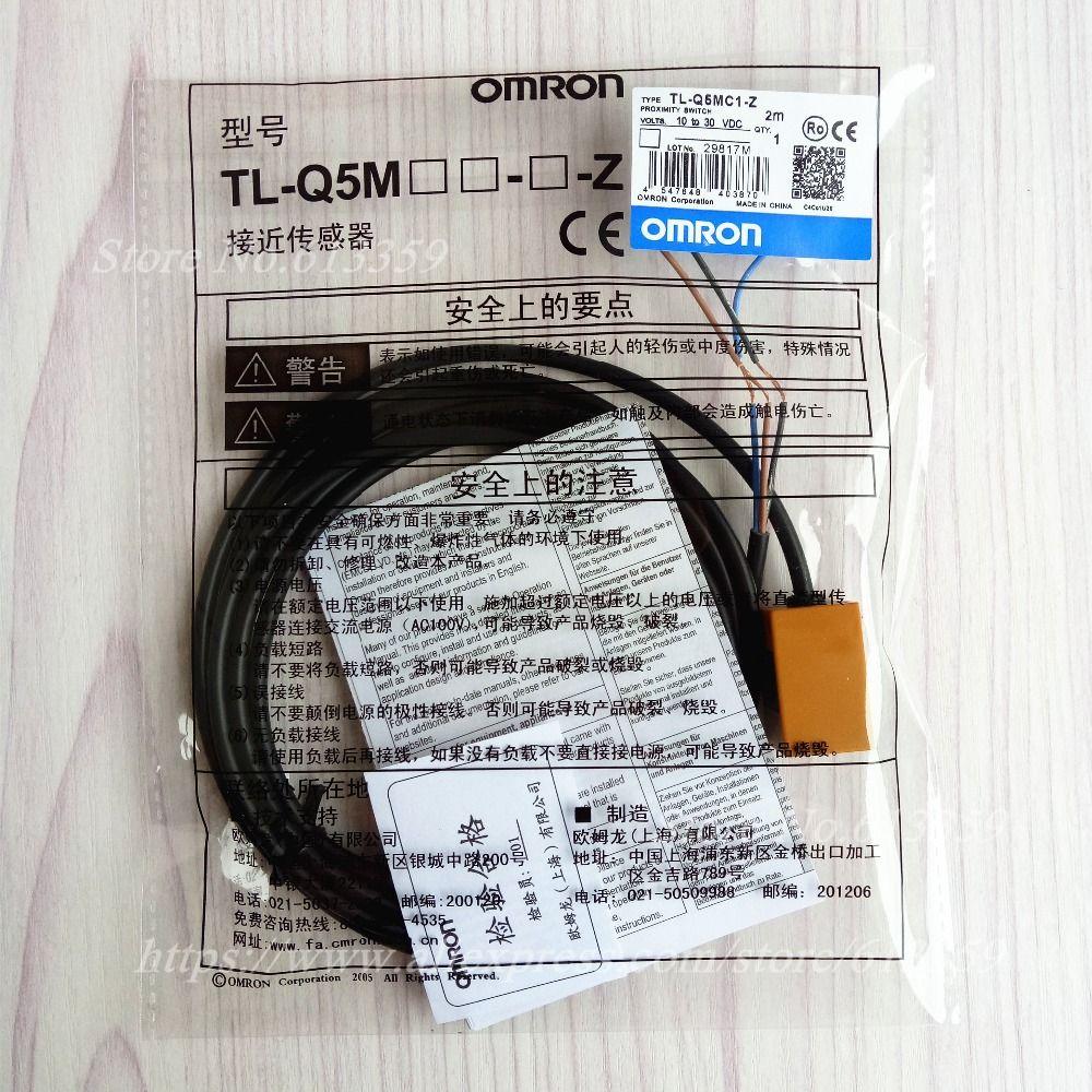 NPN-Schließer Omron TL-Q5MC1 Induktiver Sensor Endschalter 10-30 V dc