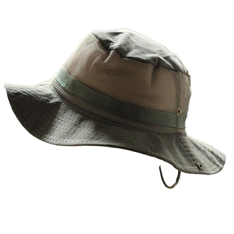 Bucket Flap Hat Breathable Boonie Camouflage Hats Outdoor Fishing Wide Brim sun hats