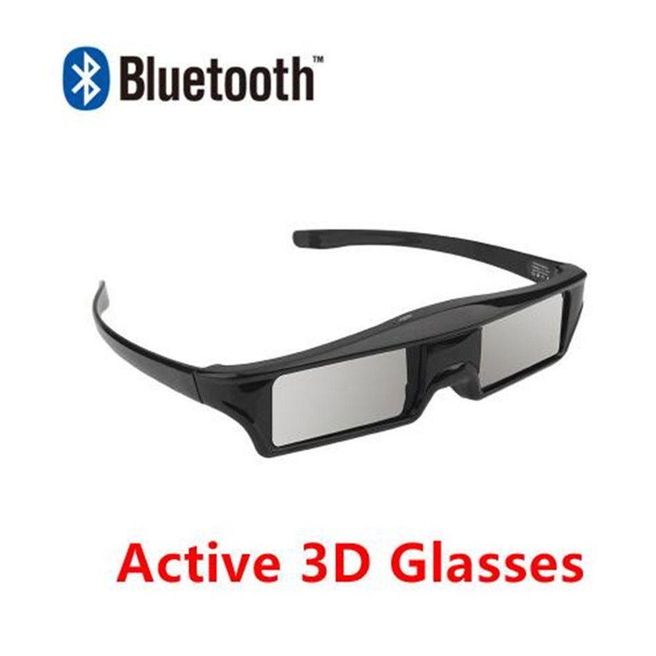 1 unidades / lotes 3d rf bluetooth óculos ativos para epson elpgs03 projetor de cinema em casa t190628
