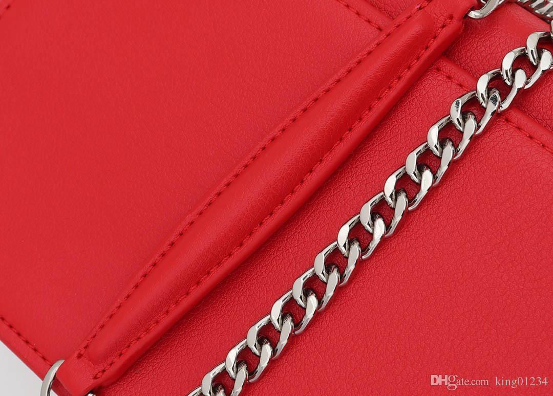 1737 Fashion designer luxury Bag Famoso Designer di Marca Borse A Lunga Catena Del Cuoio Genuino Borsa A Tracolla crossbody