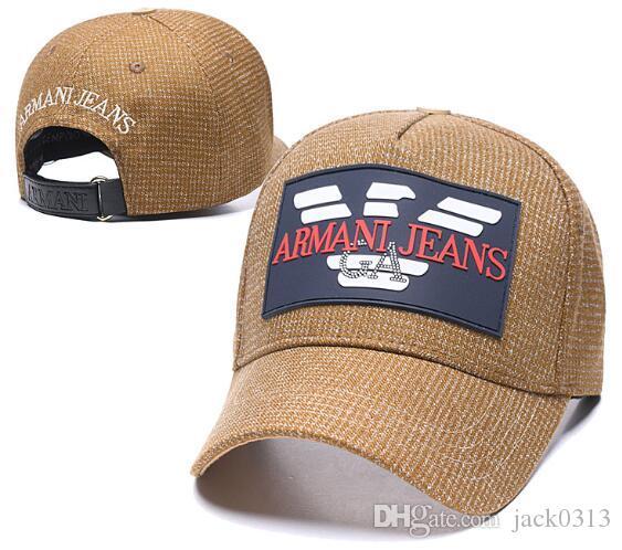 Nova chegada de moda de alta qualidade cap marca de designer chapéus snapback bonés de beisebol homens luxo senhora bola cap trucker casquette osso chapéu do verão
