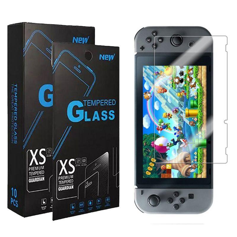 حامي الشاشة الزجاج المقسى ل Nintendo التبديل الرجعية لايت NS NX 3DS 2DS XL SONY PSV1000 PS Vita 2000 9h لعبة الغطاء الواقي