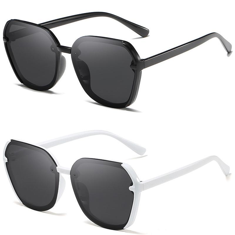 2 paires de lunettes de soleil, lunettes de soleil polarisées mode, hommes et lunettes de soleil d'été Pare-soleil femmes