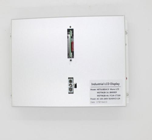 9 pulgadas de pantalla LCD en forma para Mitsubishi M64 E60 E68 M64s CNC monitor CRT Y