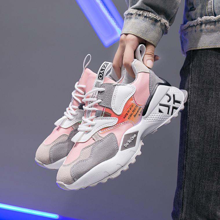Mulheres Up 2020 Primavera Mulheres Sneakers Sapatos Plataforma para Lace Casual Plataforma Senhoras Flats Respirável Outono Sapatilhas Sapatos EJBHD