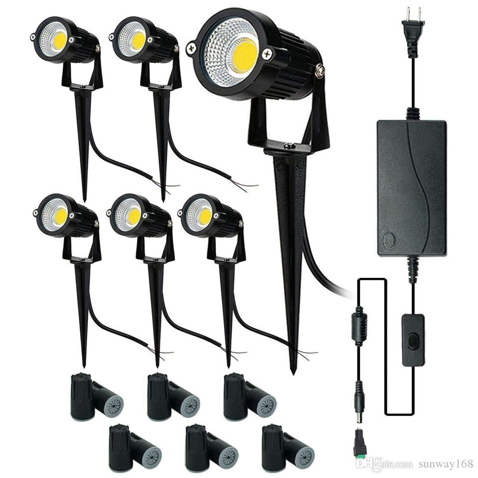 2020 Upgrade Led Outdoor Spotlight 8 Pack 12v Low Voltage Landscape Lighting Warm White Ip65 Waterproof Garden Lights With Ul Listed Adapter From Sunway168 68 74 Dhgate Com